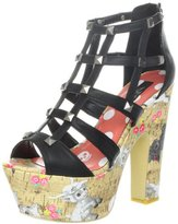 Iron Fist Women's Black Sheep Platform Sandal