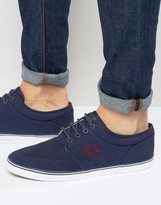 Fred Perry Stratford Canvas Sneakers