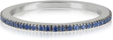 Forzieri Natural Blue Sapphire Eternity Band Ring