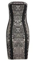 City Chic Lace Seduction Dress