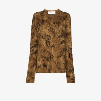Alyx Leopard Jacquard Sweater
