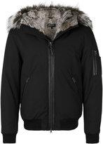 Mackage fur trimmed hooded jacket