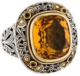 Konstantino Citrine Ring