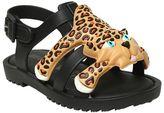 Mini Melissa Scented Leopard Melflex Sandals