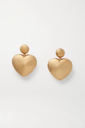 Balenciaga Susi Gold-tone Earrings - one size
