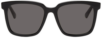 Bottega Veneta Black Square Sunglasses