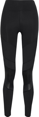Iris & Ink Paneled Perforated Stretch Leggings