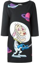 Jeremy Scott Ren & Stimpy print dress