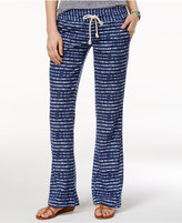 Roxy Juniors' Printed Wide-Leg Soft Pants