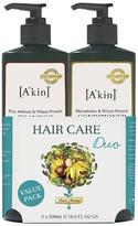 Akin A'kin Rice Aminos & Wheat Protein Shampoo & Macadamia & Wheat Protein Conditioner Duo 500ml