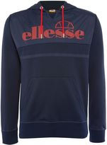Ellesse Men's Contrast panel logo hoody