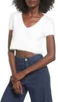 Majorelle Women's Oracle Crop Sweater