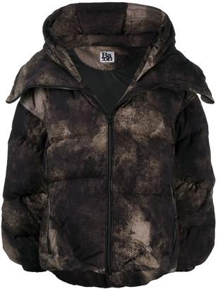 Bacon Faded-Effect Puffer Jacket