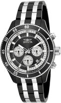 Invicta Specialty Mens Black and Stainless Steel Bracelet Watch 18055