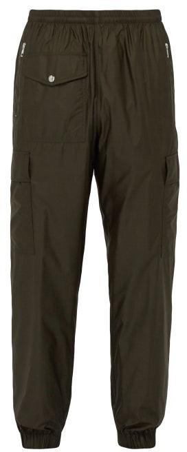 Moncler 2 1952 - Cargo Technical Track Pants - Mens - Khaki