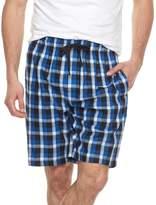 Chaps Big & Tall Plaid Soft-Touch Woven Sleep Shorts