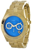 Marc by Marc Jacobs MBM3307 Blade Blue Dial Gold Tone Womens Watch
