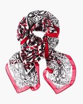 Chico's Luxe Heels Scarf