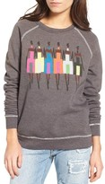 Junk Food Clothing Women's Donald Robertson Girls Sweatshirt