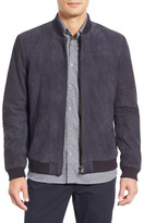 Ted Baker Vipers Genuine Suede Bomber Jacket