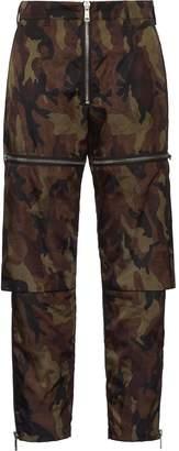 Prada cargo-style camouflage trousers