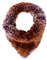 Glamour Puss Glamourpuss Knitted Fur Snood w/ Tags