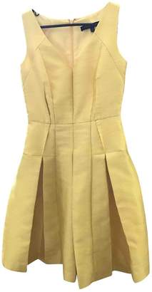 Carmen Marc Valvo Yellow Dress for Women