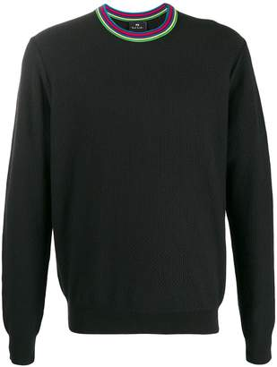 Paul Smith contrasting collar sweater