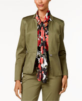 Nine West One-Button Jacket