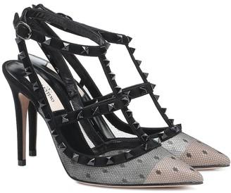 Valentino Garavani Rockstud leather pumps