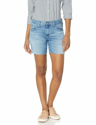 AG Jeans Women's Becke Relaxed FIT Slim Leg Short