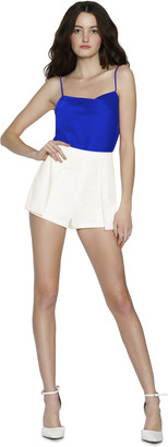 Alice + Olivia Larissa Pleated Shorts