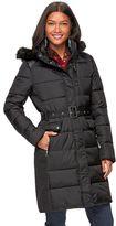 Chaps Women's Hooded Puffer Walker Jacket