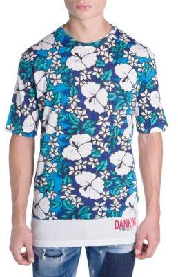 DSQUARED2 Relaxed Hawaiian Floral Tee
