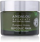 Andalou Naturals Glycolic Brightening Mask, Pumpkin Honey, 1.7 Ounce