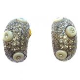 Valentino Gold Metal Earrings