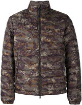 Woolrich camouflage down jacket - men - Polyester/Feather/Duck Feathers - M