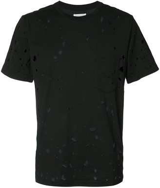 TAKAHIROMIYASHITA TheSoloist. distressed T-shirt