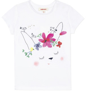 Catimini MAE girls's T shirt in White