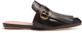 Marni Fringed backless loafters