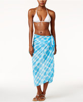 Dotti Sky Is The Limit Printed Sarong Cover-Up