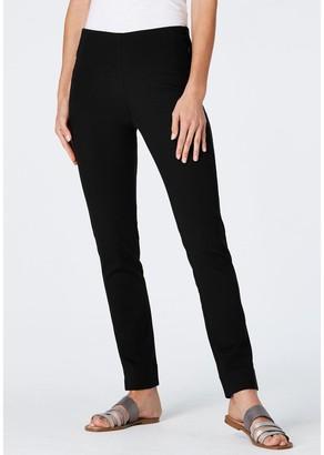 J. Jill J.Jill Cotton Stretch Slim Leg Pants