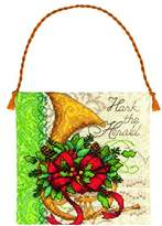 Dimensions Counted Cross Stitch Kit - French Horn Ornament