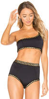 Kiini Chacha One Shoulder Top in Black. - size M (also in )