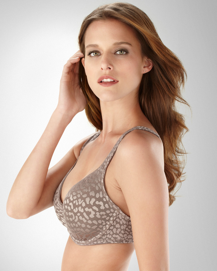 Soma Intimates Full Coverage Allura Animal Lace Bra