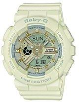 Casio Baby-G – Women's Analogue/Digital Watch with Resin Strap – BA-110GA-7A1ER