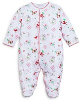 Kissy Kissy Infant Unisex HoHoHo Print Footie - Sizes Newborn-9 Months