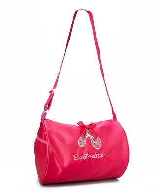 Wenchoice Girls' Duffle Bags HOT - Hot Pink Ballet Slipper Duffel Bag - Girls