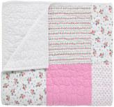Cath Kidston Hankie Rose Patchwork Quilt