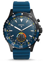 Fossil Q Crewmaster Silicone-Strap Hybrid Smart Watch